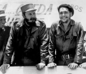 Che and Fidel together