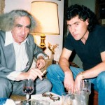 With George Faludy