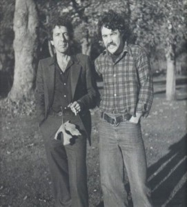 Alan Twigg and Leonard Cohen