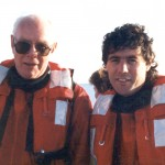 With Pierre Berton