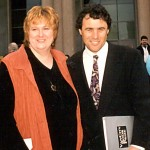 With Gail Anderson