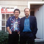 With Douglas Gibson