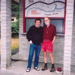 With W.P. Kinsella